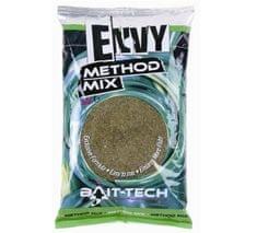 Bait-Tech krmítková směs envy green hemp & halibut method mix 2 kg