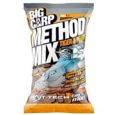 Bait-Tech krmítková směs big carp method mix tiger & peanut 2 kg