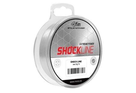 FIN Vlasec Shock Line 80 m 0,50 mm, 33 lb