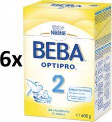 Nestlé BEBA PRO 2 Kojenecké mléko - 6x600g