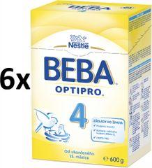 Nestlé BEBA OPTIPRO 4 - 6x600g