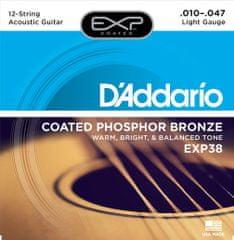 Daddario EXP38 Struny na dvanásťstrunovú gitaru