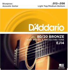 Daddario EJ14 Kovové struny na akustickú gitaru