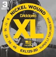 Daddario EXL125-3D Struny na elektrickú gitaru