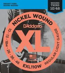 Daddario EXL110W Struny na elektrickú gitaru