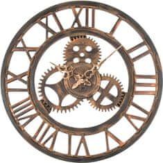 Lowell Dizajnové nástenné hodiny 21458