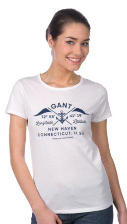 7b600d17a Gant dámské tričko L biela | MALL.SK
