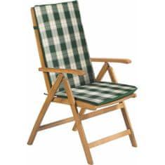 Fieldmann poduszka na krzesło FDZN 9101 zielony w paski