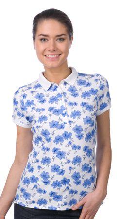 Gant női galléros póló XS kék
