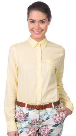 Gant dámská košile 36 žlutá