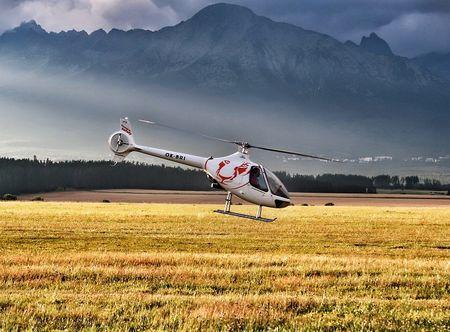 Allegria výlet vrtulníkem okolo Hradce Hradec Králové