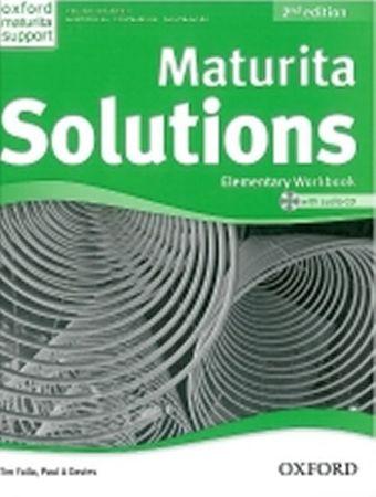 Falla Tim, Davies Paul A.: Maturita Solutions 2nd Edition Elementary Workbook with Audio CD CZEch Ed