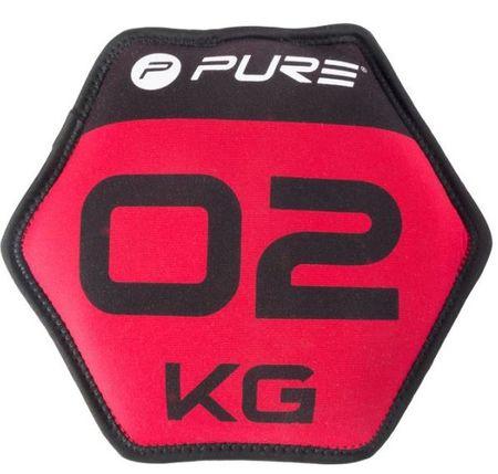 Pure2Improve neopren disk s peskom, 2 kg