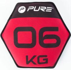 Pure2Improve Neopren uteg s pijeskom, 6 kg