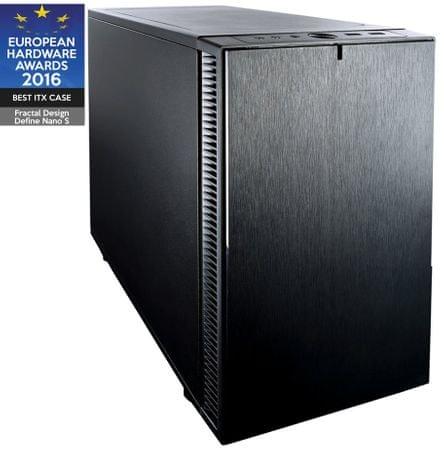 Fractal Design Define Nano S, Mini-ITX ohišje, črno
