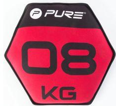 Pure2Improve Neopren uteg s pijeskom, 8 kg