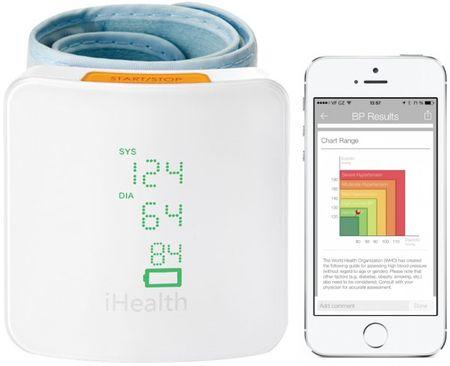 iHealth brezžični zapestni merilnik krvnega tlaka BP 7