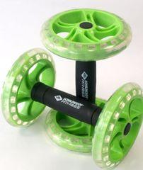 Schildkröt kotači za vježbanje Fitness Dual Roller