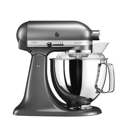 KitchenAid kuhinjski robot Artisan 5KSM175PSEMS, Medaillon Silver