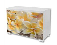 Dimex Nálepky na nábytok - Plumeria, 85 x 125 cm