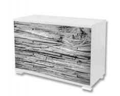 Dimex Nálepky na nábytok - Šedá kôra, 85 x 125 cm
