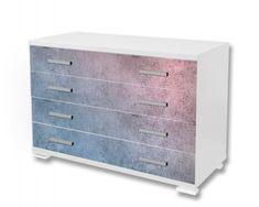 Dimex Nálepky na nábytok - Farebný beton, 85 x 125 cm