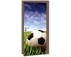 Dimex Fototapeta na dvere DL-026 Futbalová lopta 95 x 210 cm
