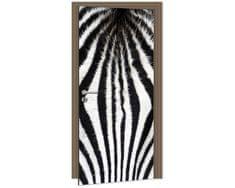 Dimex Fototapeta na dvere DL-060 Zebra 95 x 210 cm