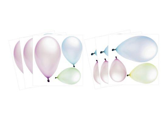 Dimex Malé nálepky vyrezané - Balóny, 6 ks