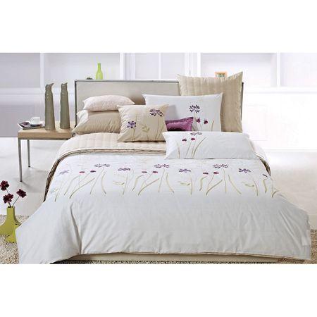 Vitapur bombažno-satenasta posteljnina Anna, 200 x 200 + 2x 50 x 70 cm