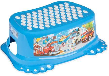 """COSING Podnóżek dziecięcy """"Auto"""", niebieski"""