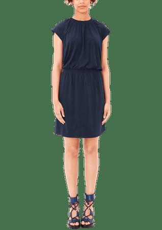 b05a3418aa s.Oliver női ruha 36 sötét kék   MALL.HU