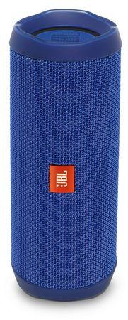 JBL Flip 4 Vízálló Bluetooth hangszóró, kék