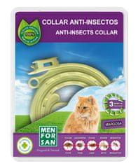 Menforsan Prírodný obojok pre mačky odpudzujúci blchy a kliešte