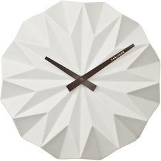 Karlsson zegar ścienny KA5531WH Origami
