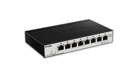 D-Link 8-port stikalo gigabit PoE Smart SWITCH (DGS-1100-08P)