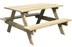TRIGANO stolček drevený Piknik
