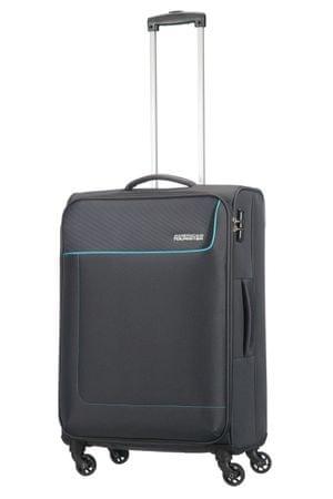 American Tourister Funshine 63,5 l bőrönd, szürke