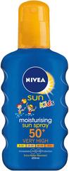 Nivea SUN Detský farebný sprej na opaľovanie OF50+ 200 ml