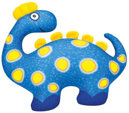 Bino Dinosaurus modrý 33x28cm
