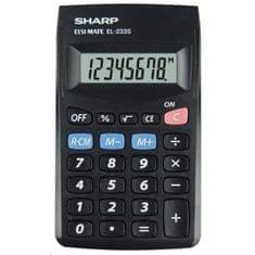 Sharp kalkulator EL233SBBK (SH-EL233SBBK)