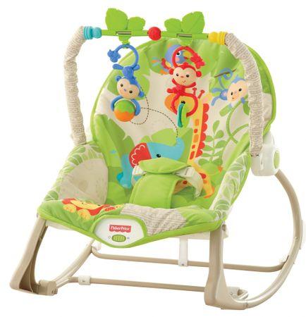 Fisher-Price BG Sedadlo od bábätka po batoľa Rainforest
