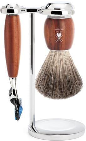 Mühle Vivo sada na holenie, Pure Badger, Fusion, Plum Wood