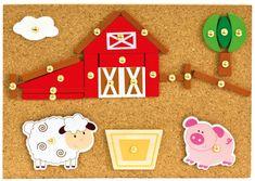 BINO Kalapácsos játék, farm