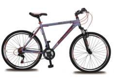 """Olpran Challenger 26"""" Kerékpár, Szürke/Piros"""