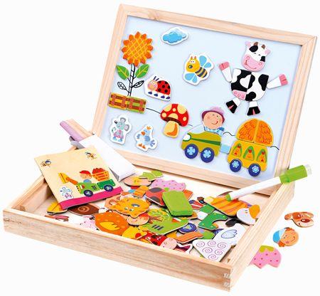 6fe8e8b20 BINO Farma magnetická tabuľka s puzzle - Alternatívy | MALL.SK
