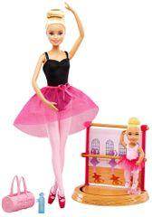 Mattel Barbie športový set balerína