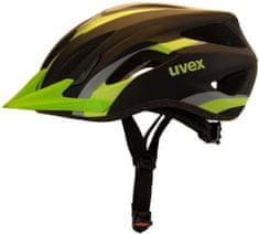 Uvex Kask rowerowy Viva 2 Black Mat Green (2017)