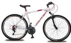 """Olpran Player 28"""" Kerékpár, Fehér/Piros"""