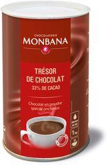 Monbana horká čokoláda Tresor 1 kg
